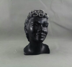 "Vintage Frank Scherman Tiki Bust - Kanoa ""The Free One"" - Made From Blac... - $49.00"