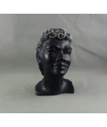 """Vintage Frank Scherman Tiki Bust - Kanoa """"The Free One"""" - Made From Blac... - $49.00"""