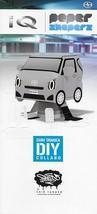 2014 Scion iQ Shin Tanaka DIY PAPER SHAPERS brochure catalog US Toyota - $9.00