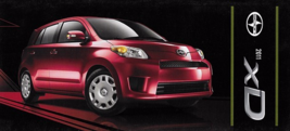 2011 Scion xD sales brochure catalog US 11 Toyota ist  - $7.00