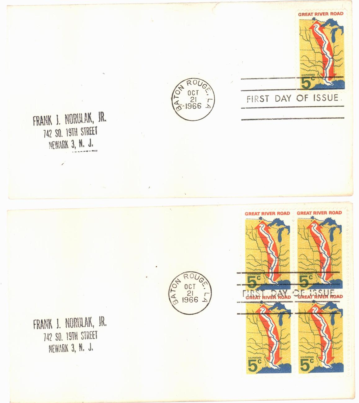 Great river road fdc