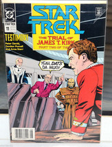 Star Trek DC Comic Book 11 Testimony Trial of James T. Kirk Part 2 of 3 Aug 1990 - $4.94