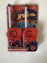 NEW Spider-Man Walkie Talkies Marvel 49 MHZ Red - $9.75