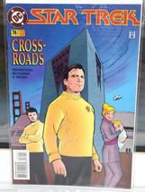 Star Trek DC Comic Book 74 Aug 95 collectible vintage Cross-Roads Crossroads - $4.94