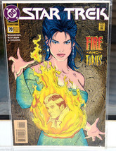 Star Trek DC Comic Book 70 Apr 95 collectible vintage Fire and Furies - $1.97