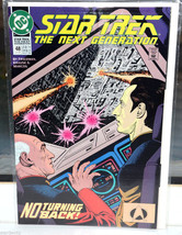 Star Trek The Next Generation DC Comic Book 48 Jul 93 No Turning Back! - $1.98