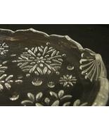 "Mikasa Crystal - Snowflake Pattern - Sweet Dish - 9.25"" Oval - $6.99"
