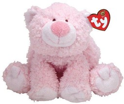 TY Pluffies Pluffy CUBBIE CUBBY CUDDLES Pink Bear Plush Stuffed Animal - $29.35