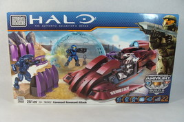 MEGA BLOKS HALO ARMORY #281 COVENANT REVENANT ATTACK SET - $39.59