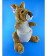 Ganz Webkins Kangaroo Plush with Pouch  Very Cute - $4.63