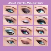 Schnelles Augen Make-up Schablonen Eyeliner Lidschatten Augenbrauen CH1 - $15.00
