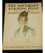 VTG Rge Saturday Evening Post Magazine November 2 1907 Illustrated - $64.35