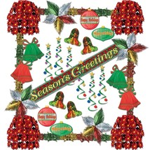 31-piece Season's Greetings Reflections Decorating Kit by Beistle - £74.73 GBP
