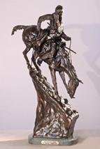 Mountain Man Solid Bronze Collectible Sculpture... - $390.00