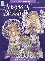 Angels Of Blessing 3 Designs Crochet PATTERN/Instructions Leaflet - $3.57