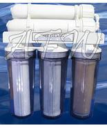 New Dual Membrane Reef Aquarium Reverse Osmosis RO DI Water Filter 150GPD - $234.52