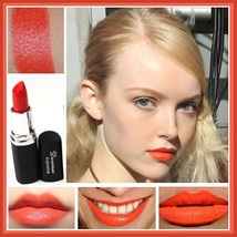 Lipstick Vampire Lip Color 4 Matte Shades Orange Golden Violet and Vampire Blood image 2