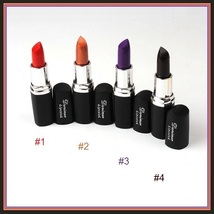 Lipstick Vampire Lip Color 4 Matte Shades Orange Golden Violet and Vampire Blood image 7
