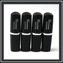 Lipstick Vampire Lip Color 4 Matte Shades Orange Golden Violet and Vampire Blood image 8