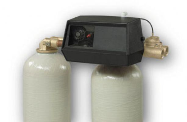 New Fleck 9000 water softener control valve dual tank replacement head