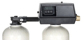 New Fleck 9100SXT valve for water softener control head dual tank replac... - $530.00
