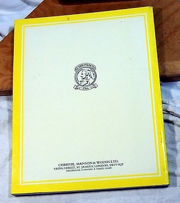 Christie's Auction House Catalogs Lot of 2 London June 1987, NY January 1989