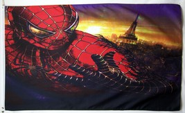 Spiderman Action Flag 3' X 5' Indoor Outdoor Comic Book Hero Banner - $19.95