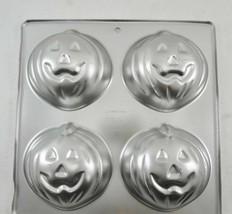 Wilton Little Pumpkins Aluminum Cake Pan 2105-9497 1990 Jack O'Lantern H... - $24.50