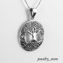 Sterling Silver Celtic Tree of Life Pendant - Irish Jewelry - $21.95