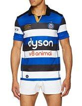 Canterbury Vapodri+ Bath Home Pro SS Rugby Jersey (Large) Blue image 1