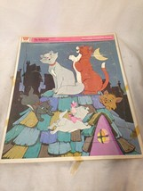 DISNEY VINTAGE THE ARISTOCATS LARGE  PICTURE PU... - $14.01