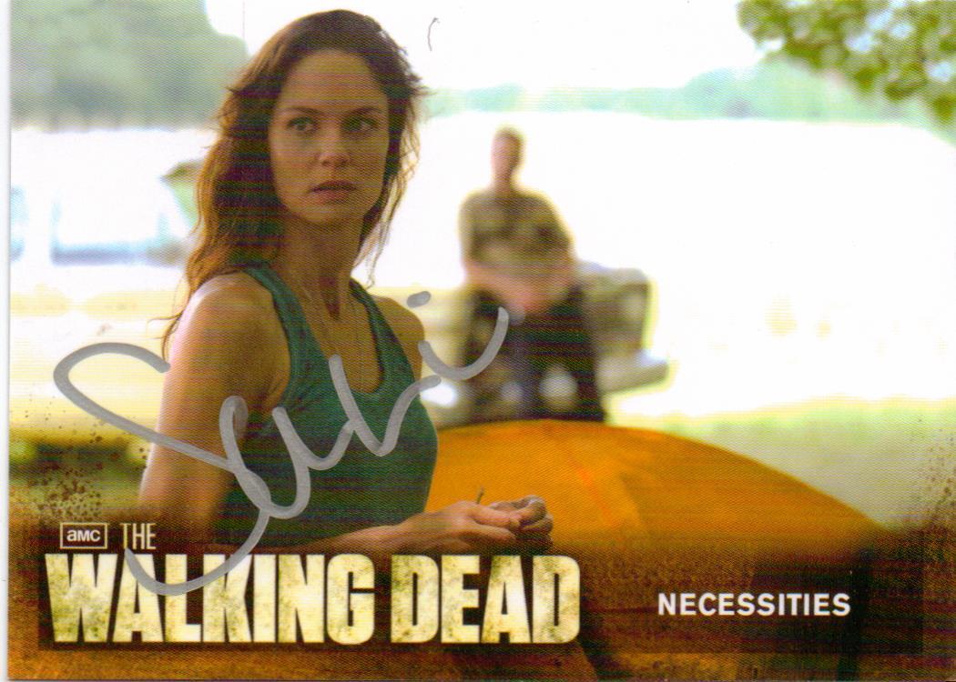 "Walking Dead Season 2 - 31 Sarah Wayne Callies ""Lori"" Autograph Card"