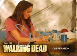 "Walking Dead Season 2 - 47 Sarah Wayne Callies ""Lori"" Autograph Card - $12.95"