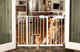 Carlson Extra-Wide Walk-Thru Gate, Pet,Door,Safety,Cage,Fence,Security,D... - $59.95