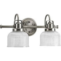 Progress Lighting P2991-81 Archie Collection Two-Light Bath & Vanity, An... - $88.92