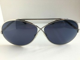 Tom Ford GTF15418V 64mm Silver Sunglasses Italy T1 - $119.99