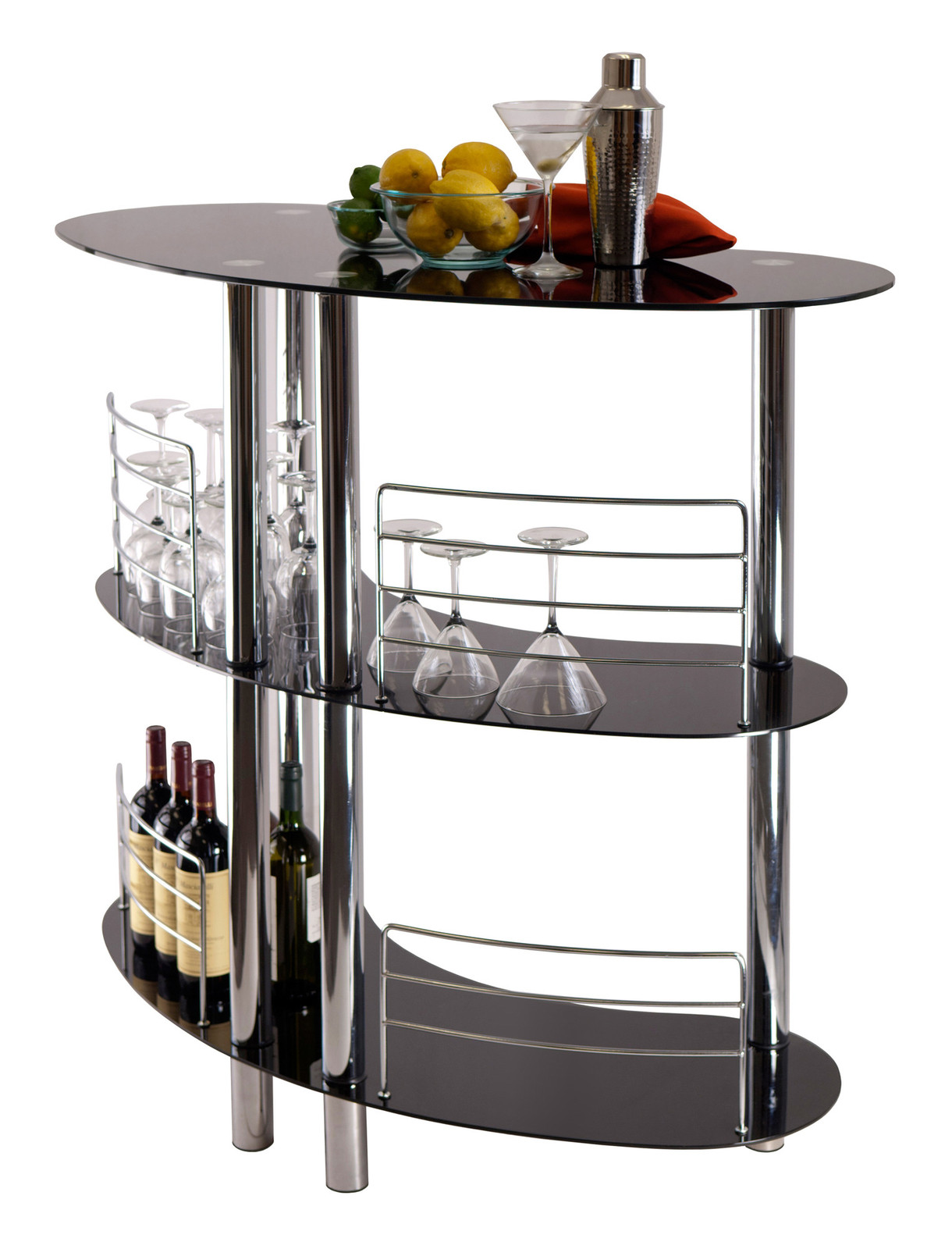 home mini bar portable stand table unit and 50 similar items. Black Bedroom Furniture Sets. Home Design Ideas