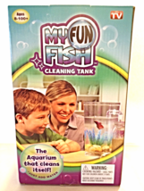 New My Fun Fish Self Cleaning Tank Kid's Betta Aquarium Bowl Setup As Se... - €13,90 EUR