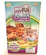 New My Fun Fish Self Cleaning Tank Kid's Betta Aquarium Bowl Setup As Se... - $16.00
