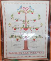 CREATIVE CIRCLE 1609 Family Tree Cross Stitch Kit Russell Bushee NEW 12x16 - $21.41