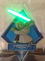 Star Wars YODA Light Up Holiday Ornament - NEW IN GIFT BOX - Cute For Co... - $12.94