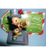 Disney Jiminy Cricket Official Conscience standing on a match book ornament - $43.19