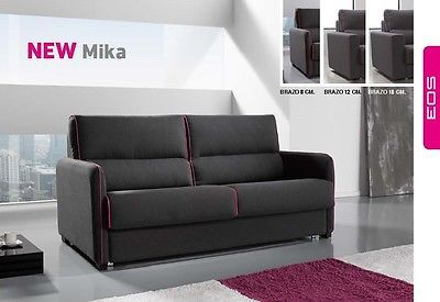 Mika Sofa Sleeper Bed Living Room Modern Contemporary Futon Made in Spain