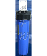 New whole house big blue chlorine, iron, bacteria filter KDF 55 - $169.97