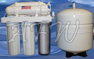 New whole house big blue chlorine, iron, bacteria filter KDF 55