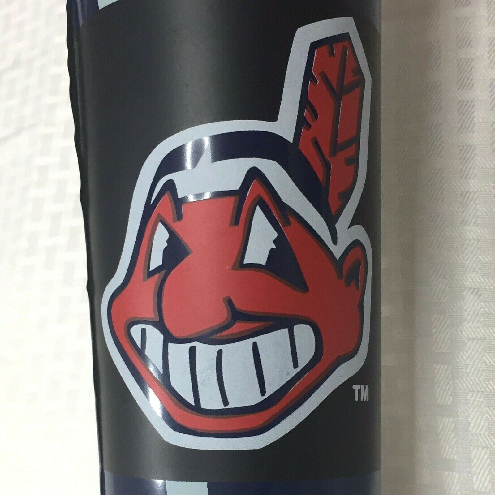 Primary image for Giant Cleveland Indians Inflatable Baseball Bat Chief Wahoo 5 Feet 2002 MLBP
