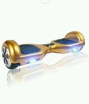 Popular 2 Wheels Smart Self Balancing Scooter Stand Up Ride Gold Light Up Celeb - $1,473.09