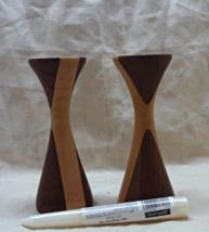 Vintage Mid Century Modern Hourglass Shape Turn... - $18.00