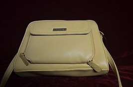 "Original Liz Claiborne purse 8"" X 10"" Plus  A  23"" adjustable handle beige color - $23.75"