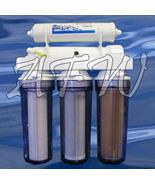 Ultimate 5 stage reef aquarium RO DI water filter system 100 gpd dual DI - $204.89